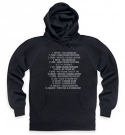 Shot Dead In The Head F Grammar Hoodie