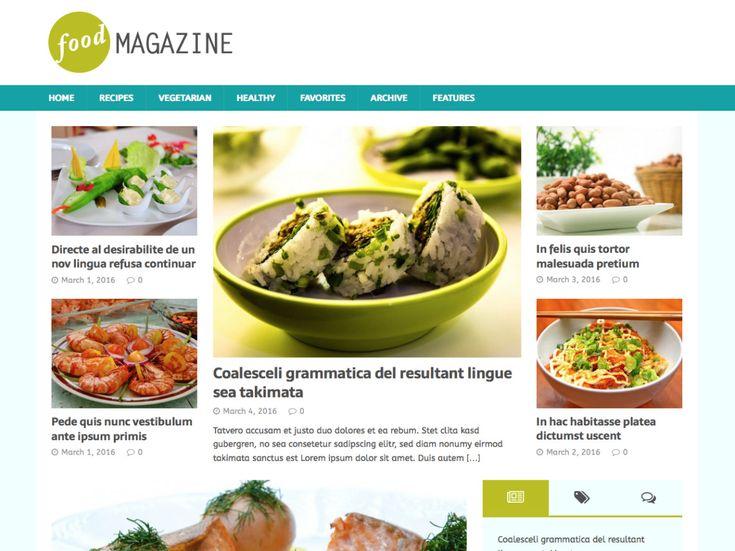 142 best Blog / Magazine Themes images on Pinterest | Comida ...