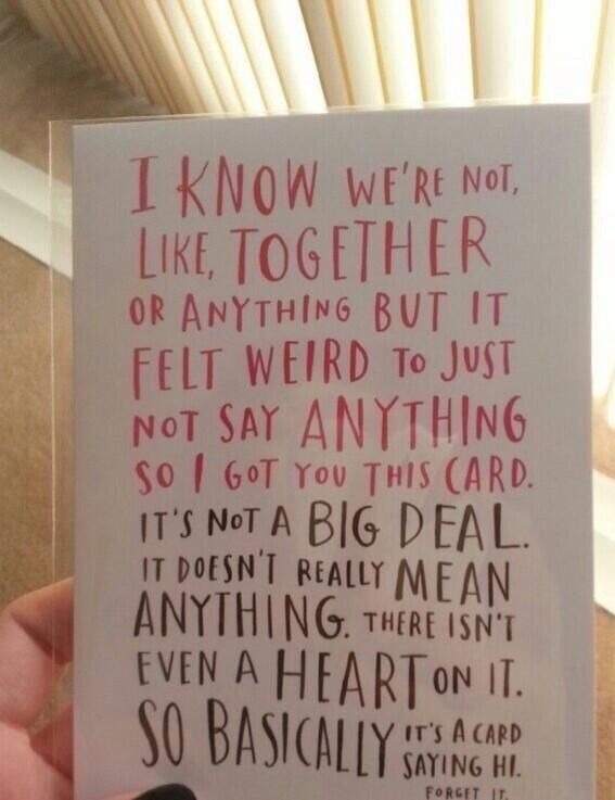 Valentines Day Card Crush Friends Valentines Day Cards Funny