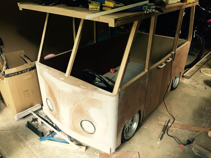 Kombi bed project
