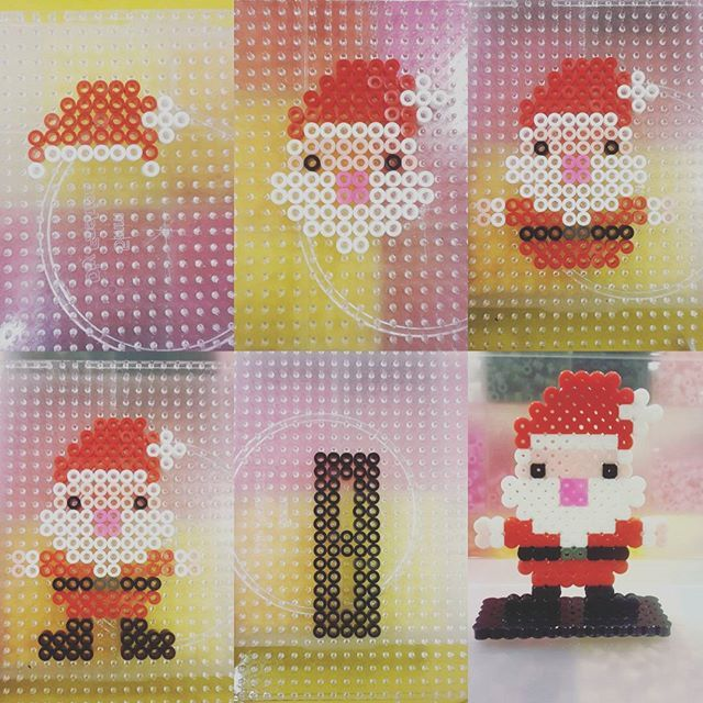 Santa Claus - Christmas perler beads by yan_alisa