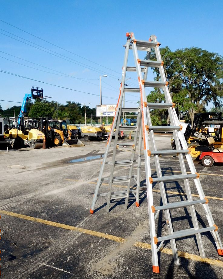Need Ladders? Rentalex Tools and Equipment offers a great array of ladder rentals, ladder extensions, aerial work platforms, and scaffolding rentals ideal for your job site. We have competitively priced solutions for your elevated residential and commercial projects in the Tampa Bay area. Contact us today at (813)971-9990 for a quote. Our rental experts can help you find the equipment you need.