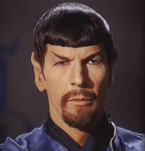 Evil Spock.