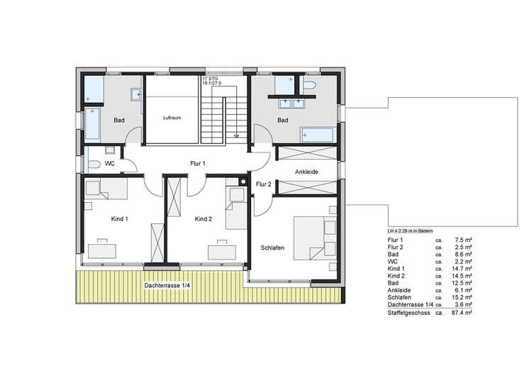 32 besten Grundrisse Bilder auf Pinterest Grundriss - badezimmer grundriss planen
