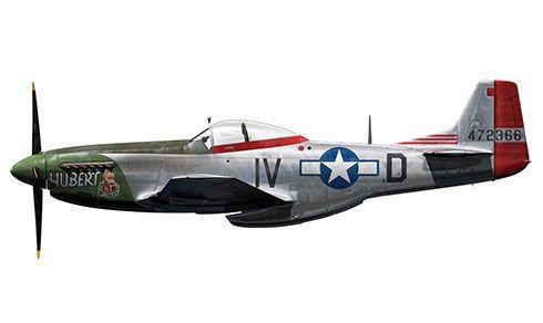 North American P-51 Mustang, 359º Grupo de Cazas, 369º Escuadrón de Cazas, Fuerza Aérea de los Estados Unidos, 1945. Pin by Paolo Marzioli