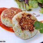 Salsas para hamburguesas creativas   Gastronomía & Cía Hummus, Eggs, Breakfast, Food, Gastronomia, Fish Burger, Homemade Salsa, Mushroom Sauce, Meals