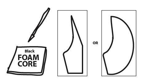 Soda Bottle Water Rocket : Cut the Fins