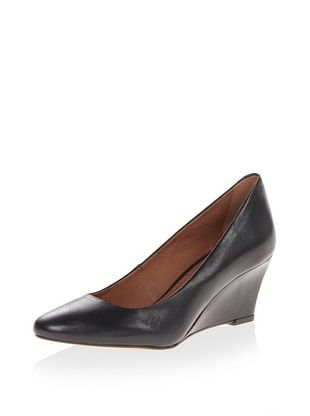 49% OFF Corso Como Women's Jayne Wedge Pump (Black Vintage Calf)