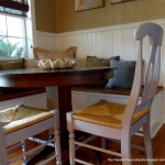 Knock Off Decor: Countryside, Design Ideas, Dining Chairs, Chalk Paint Chairs, Chalk Paintings Chairs, Barns Knock, Pottery Barns, Walks In, Knock Off