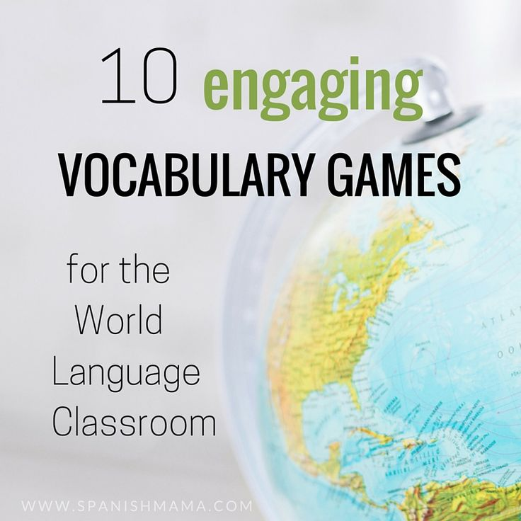 Here are 10 ideas for actively practicing vocabulary in the language classroom. Learning vocabulary should be fun!