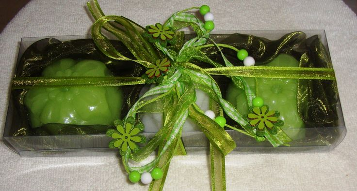 Passion for Green - Elegant Gift Set with Luxury Scented Soaps: Ideal for Summer, Feast, Birthday, Party, Mother's Day, Father's Day, Graduation