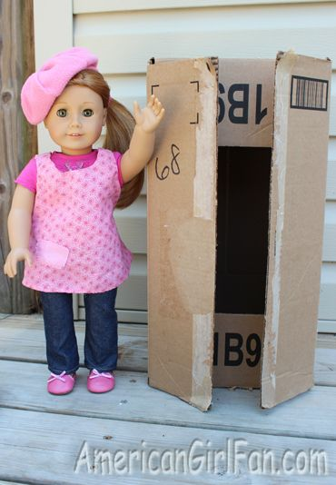 Make your own American Girl wardrobe - cute!