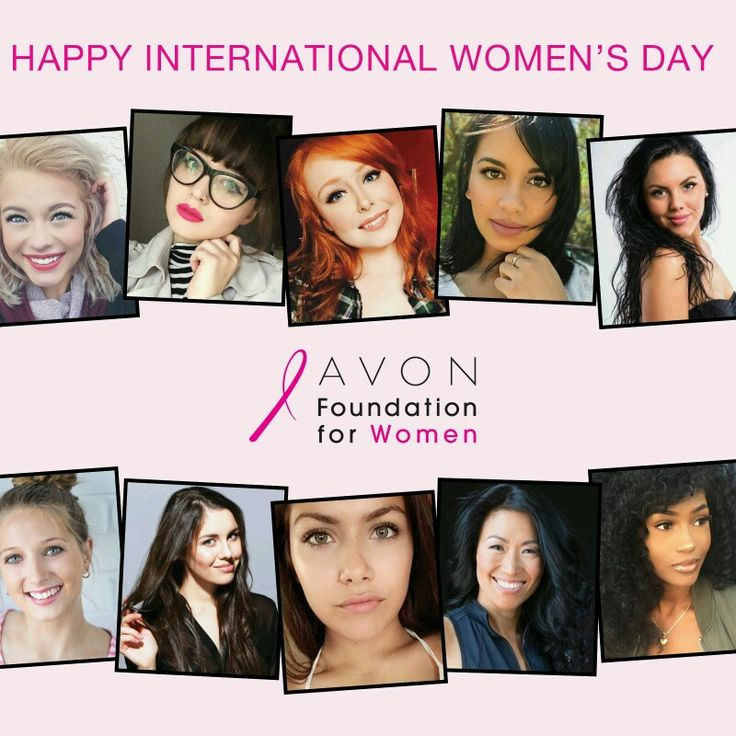 Happy International Women's Day and congratulations to all the winners of our New Face of Avon contest! In celebration, the Avon Foundation for Women will be donating over $100,000 to breast cancer organizations across Canada today!