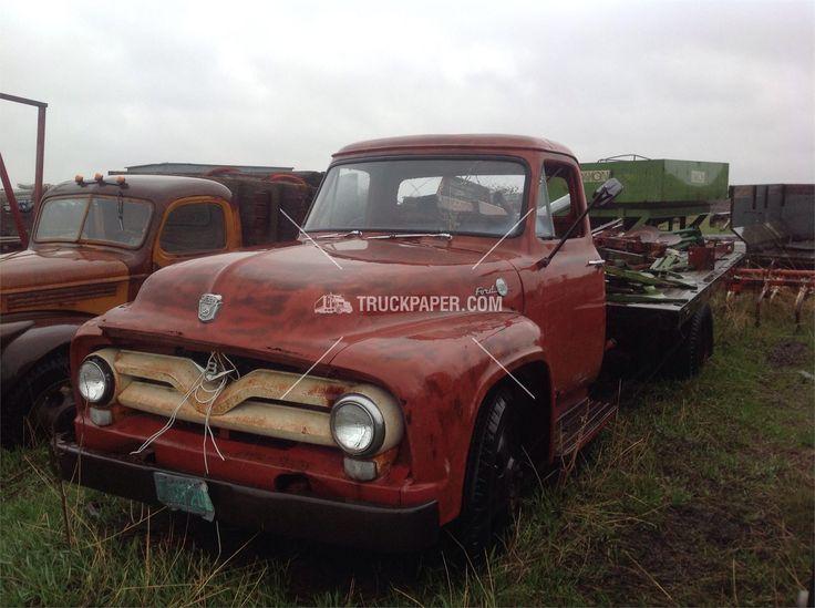 1955 FORD F600 Medium Duty Trucks - Flatbed Trucks For Sale At TruckPaper.com