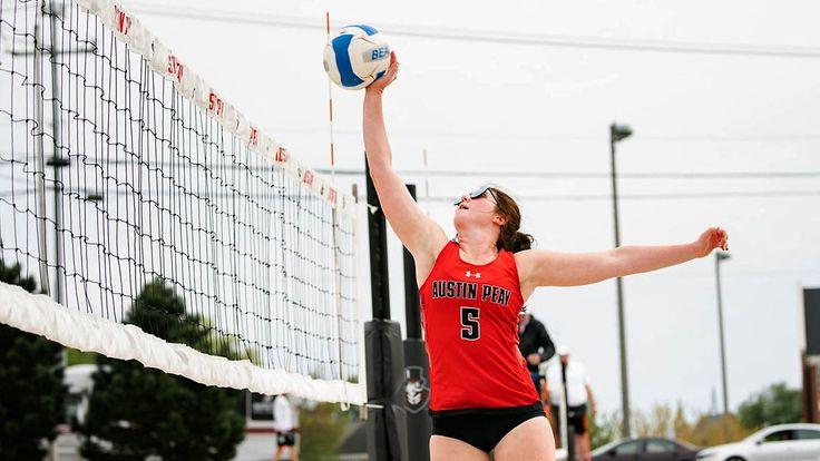 APSU Beach Volleyball beats Park University, Central