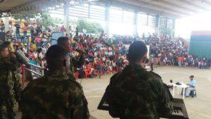 Recreación, una herramienta generadora de confianza entre la población y el Ejército Nacional