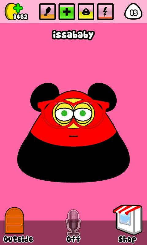 Pou app  That is me pou