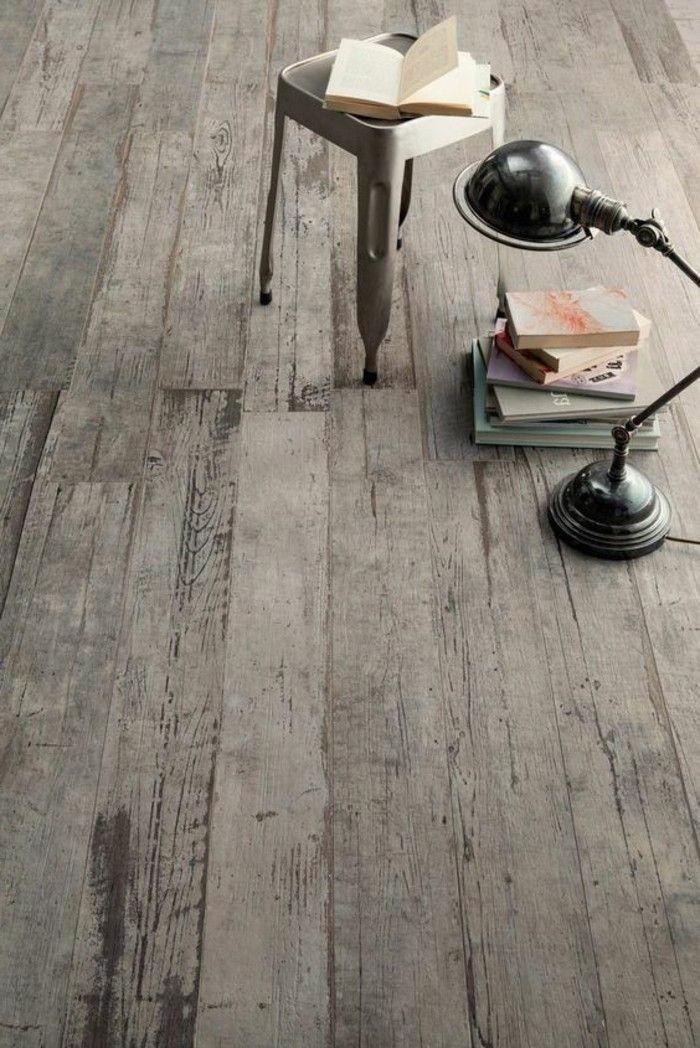 1000 id es sur le th me aspects du bois sur pinterest for Carrelage sur parquet ancien