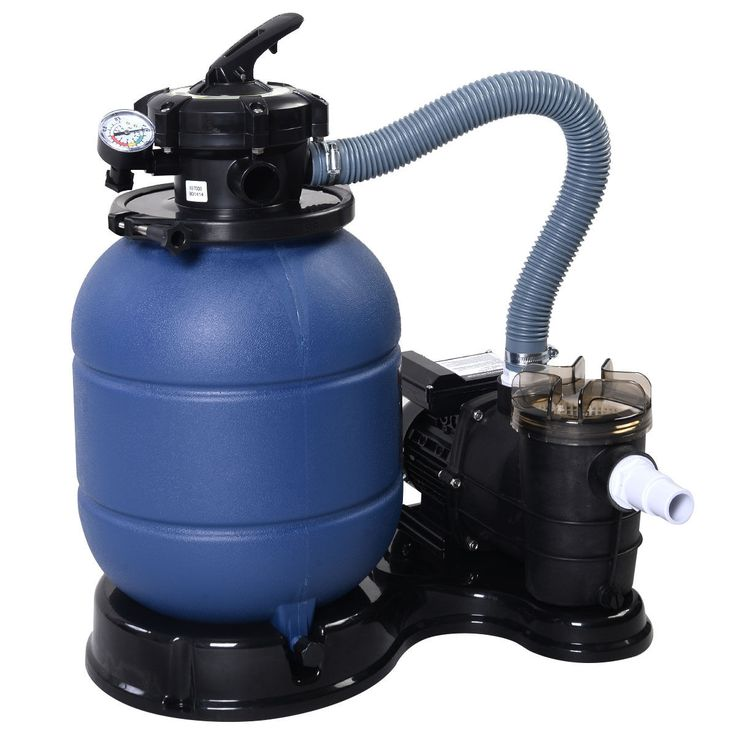 """Pro 2400GPH 13"""" Sand Filter Above Ground Swimming Pool"""