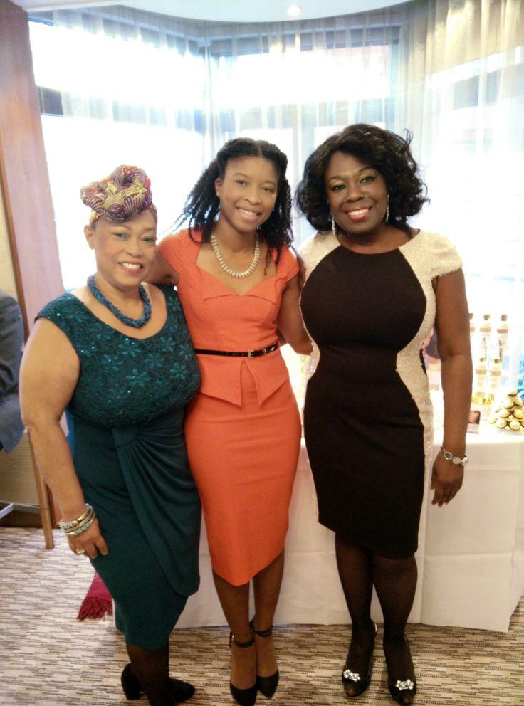 With Sherry Ann Dixon and Ellen Thomas at Creme de la Femme http://store.afrodeity.co.uk