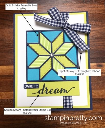SNEAK PEEK from the Stampin' Up! Holiday catalog of the Christmas Quilt Bundle.  Read more https://stampinpretty.com/2017/08/im-dreaming-quilted-christmas.html