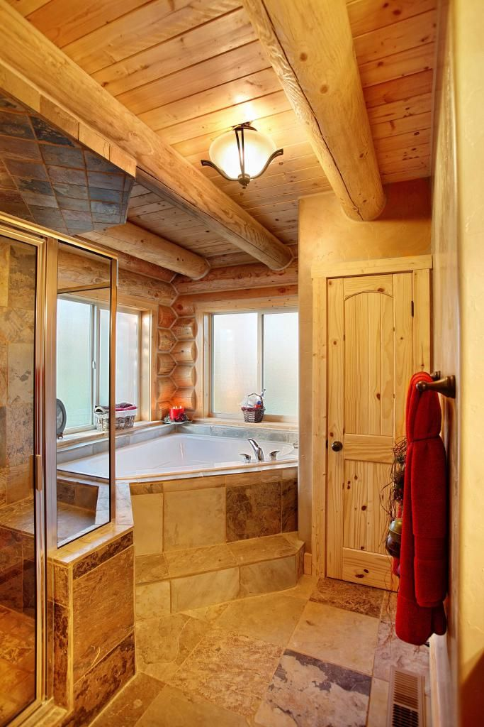 find this pin and more on our log home bathrooms by rlclowe
