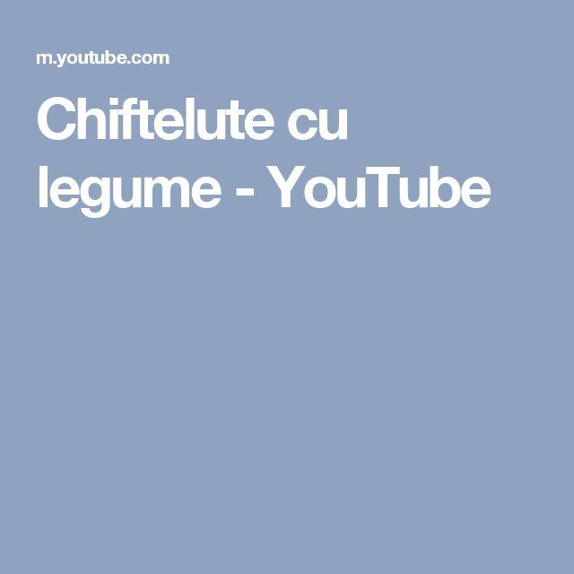 Chiftelute cu legume - YouTube
