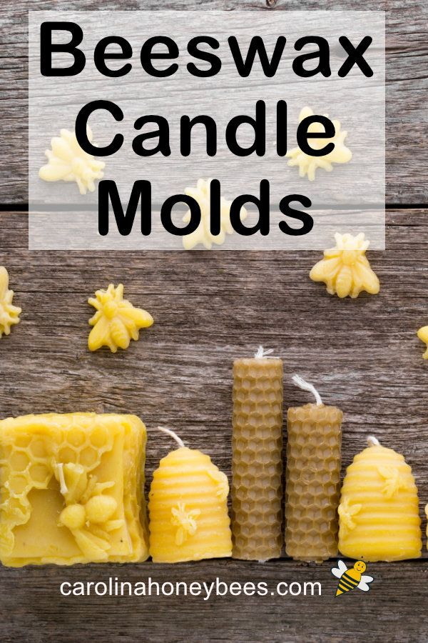 Best Beeswax Candle Molds | Candle molds, Beeswax candles ...