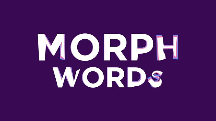 After Effects – Creating a Word Morph Transition Tutorial