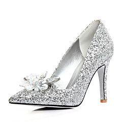 Scarpe da sposa - Scarpe col tacco - Tacchi / A punta - Matrimonio / Formale - Argento - Da donna