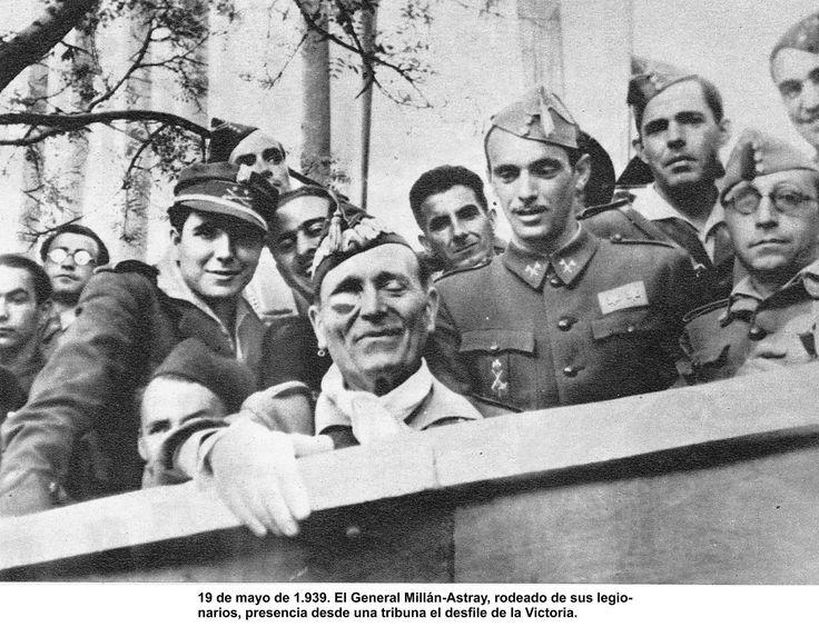 El Teniente Coronel Millan Astray 1939