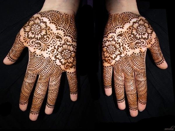 Attractive and Beautiful Mehndi Design 2015 for Bridal (10) -