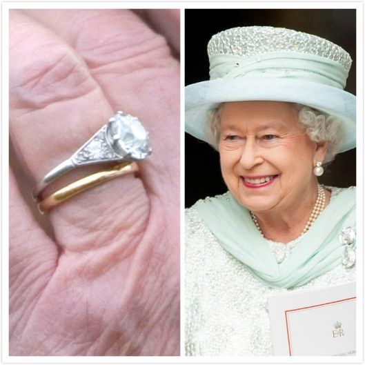 Royal-wedding-ring-Queen Elizabeth