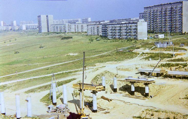 1981 r. wiadukt ul. Filaretów źródło; UMLublin