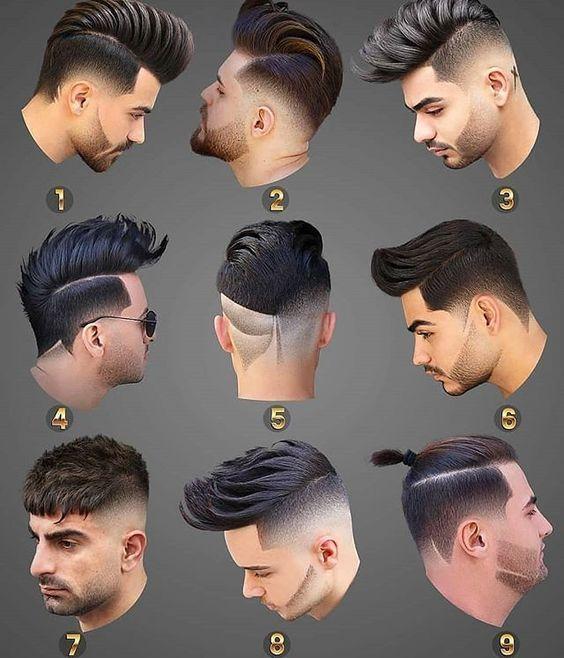 9 Cortes de cabelo masculinos bem modernos para inspiração! Cool Hairstyles For Men, Trending Hairstyles, Hairstyles Haircuts, Haircuts For Men, Mens Hairstyles Fade, Hair And Beard Styles, Short Hair Styles, Gents Hair Style, Hair Cutting Techniques
