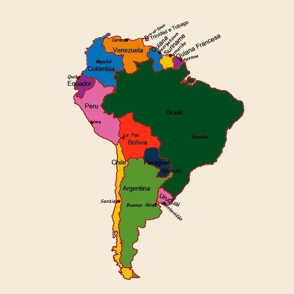 The 25 Best Mapa De Continente Americano Ideas On Pinterest