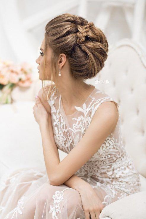 Featured Wedding Hairstyle: Elstile; www.elstile.ru # ...