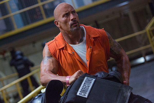 The Fate of the Furious: Dwayne Johnson promoted a brand new IMAX poster