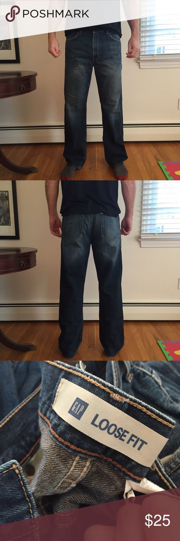 Gap men's loose fit  jeans. Gap men's loose fit  jeans. GAP Jeans