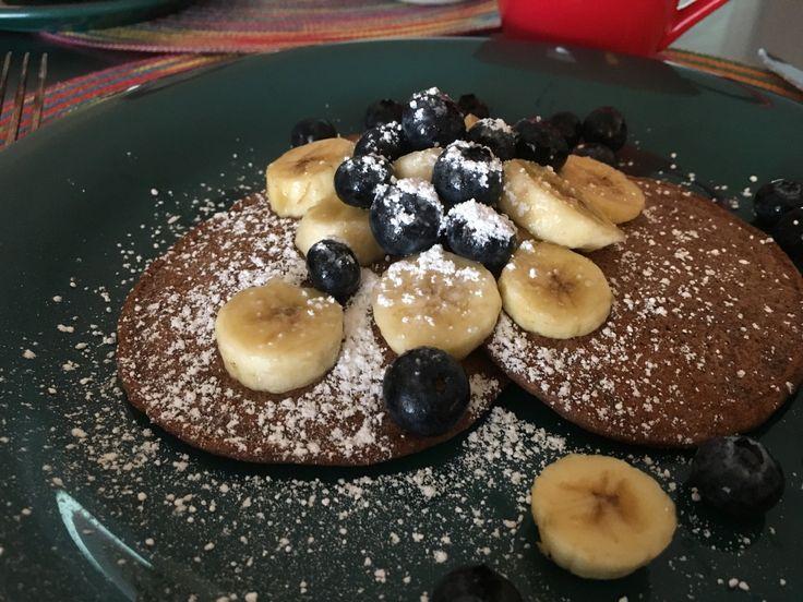 Teppanyaki pancakes: it's what's for brunch!