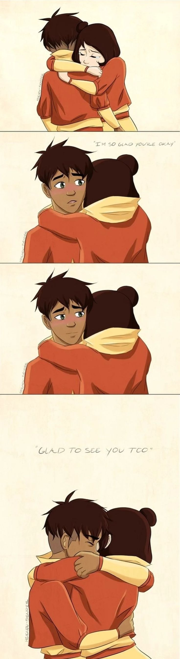 Kya Jinora Porn - Awww this is the part when Jinora found Kai in the cell.
