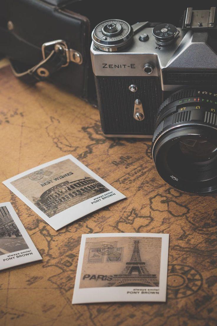 Free stock photo of vacation, eiffel tower, paris, camera
