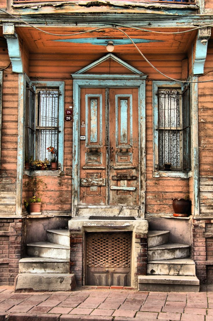 Sultanahmet | Istanbul | HDR #doors- must remember these steps- love it