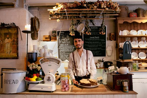 The-Vintage-Emporium-Cafe  Brick Lane