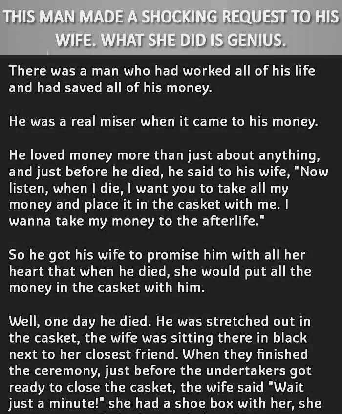 A Husband S Shocking Request To Hi Wife Humor Joke I Need Essay