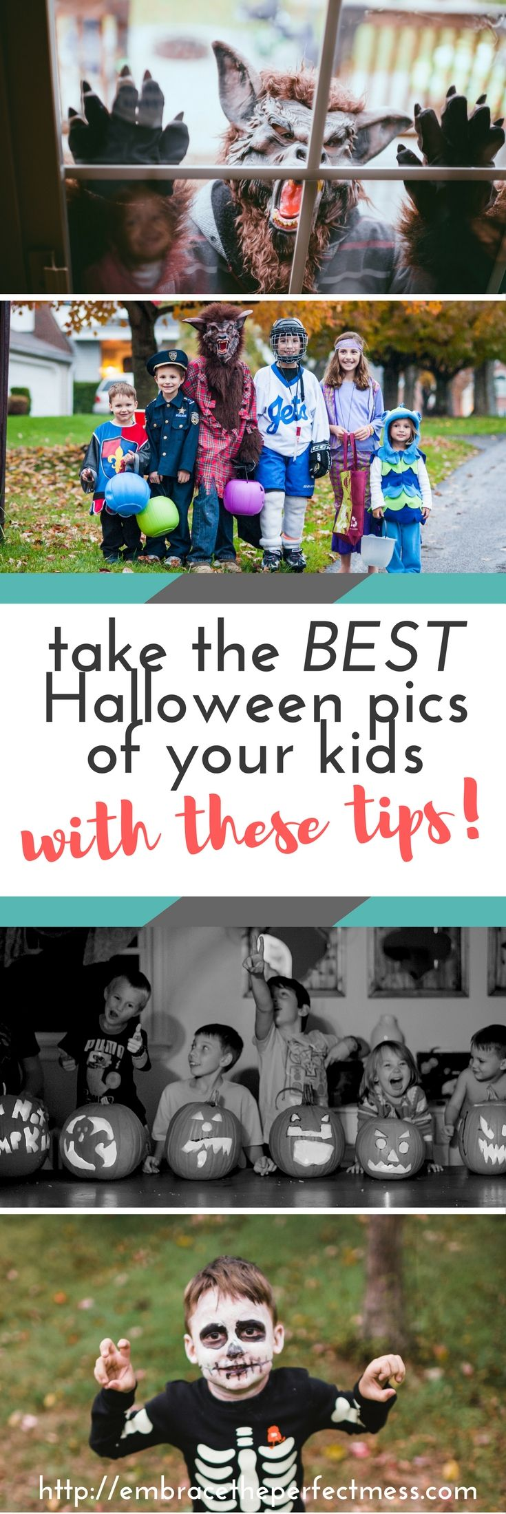 Halloween pictures of your kids are so much fun!! Try these tips for how to take pictures of kids on Halloween!