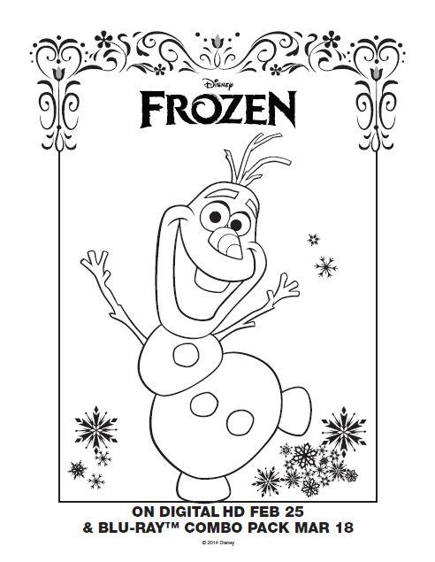 Coloring Pages Disney Princess Frozen : 106 best disney colouring sheets images on pinterest