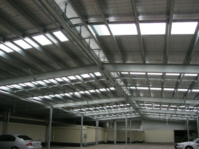 Structural Steel Roof Frame - Cairns