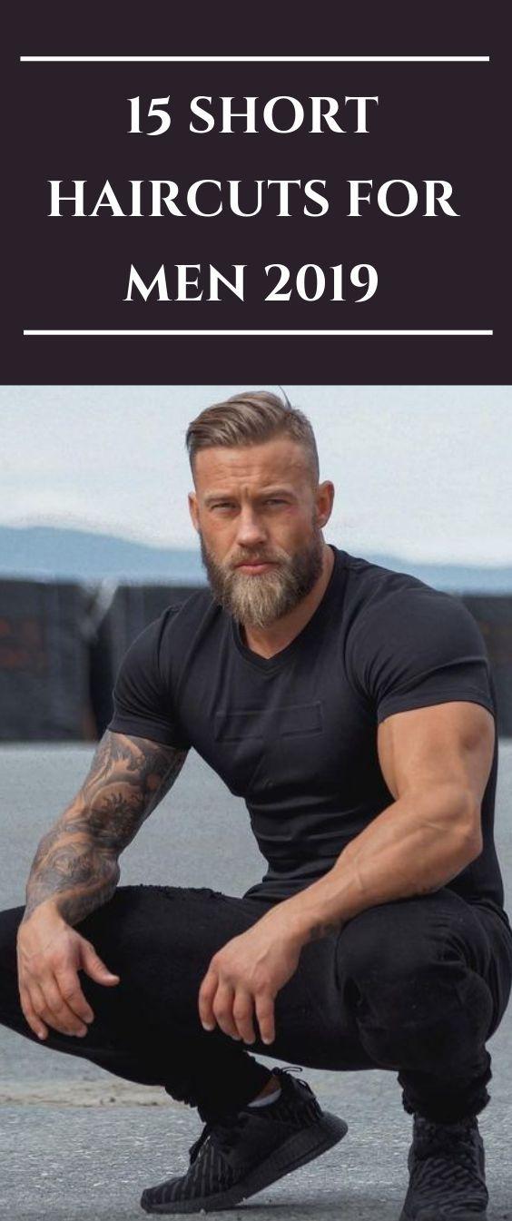 15 Kurzhaarschnitte für Herren 2019 #Frisur #Haar #Stil #Bart #Männerhaar