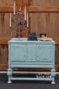 Blue Egg Brown Nest Chalk Paint Q And A Turquoise Cabinet